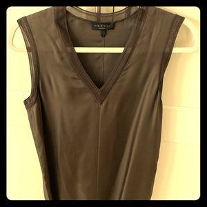 rag & bone army green silk tank dress. Worn once.